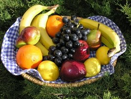 Eating lots of fruits helps generate neurons in the brain.