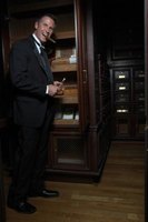 Keep your cigars ready to smoke in a cabinet humidor.