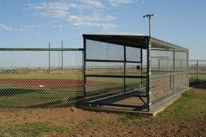 The simplest dugouts include a place to sit and store equipment.