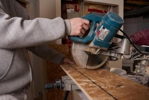 Use a miter saw to cut each piece of molding.