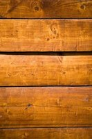 Remove a ball point ink stain from wood to restore it to its original condition.