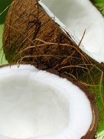 Coconut oil may replace butter in baked goods.