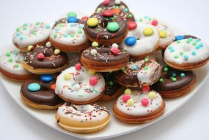 Sugary foods enter the bloodstream faster than complex carbohydrates, proteins and fats.
