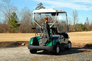 Golf carts are an increasingly common form of transport in a range of settings.