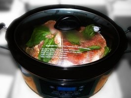Slow cookers are convenient on a busy day.