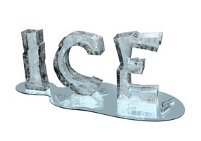Frost-free refrigerators can ice up if there is a failure in the system.