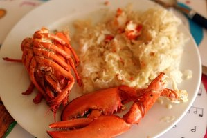 Sauerkraut can also be served with a light protein like lobster.