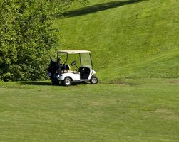 Safety features are designed into the operational aspects of golf carts.
