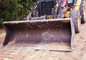 With the right tools, convert trailer buckets to plows.