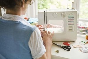 Adjusting your sewing machine for knit fabrics takes patience and often several attempts.