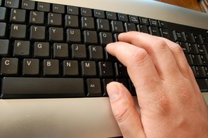 Finger exercises can prevent typing injuries.
