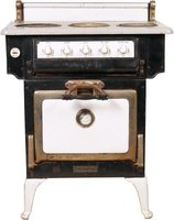 Antique stoves are built to last and may still be found in use today.