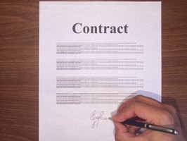 Executing a contract prior to a performance will help musicians and their clients understand exactly how a gig is to executed.