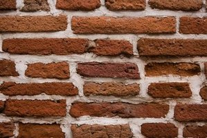 Brick needs thick mortar in between the pieces to hold them together and waterproof the wall.