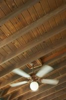 Updating ceiling beams can give a room a fresh look.