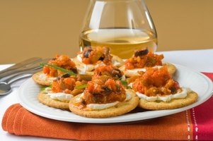 Attractive appetizers can be a delicious preview of your main meal.