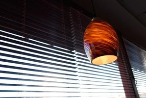 Blinds and other window treatments can keep heat out of your home.