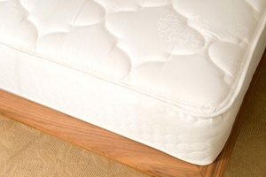 Two twin-size mattresses can be laid side-by-side to make a king-size mattress.