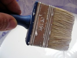 Strain old or dirty paint before you use it.