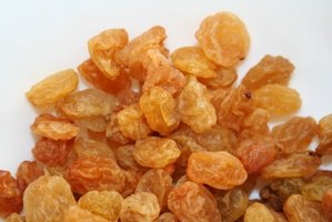 Raisins make an excellent sweetener for fruit-based dessert and recipes.