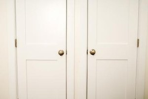 Door frames and doors will frequently rub together when the temperature and humidity rises.