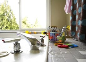 Countertop tiles add texture and color to your kitchen or bathroom counters.
