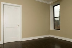 Match the trim around the closet door to the room trim for a complete look.