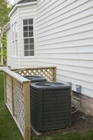 Central air conditioning systems can freeze if obstructed.