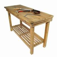 A woodworking bench can be built in one day.
