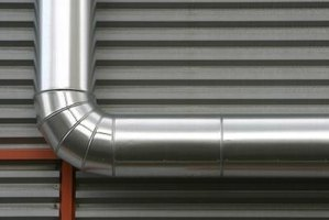 Uninsulated metal ducts leak hot and cold air