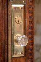 Changing door knobs and locks can often be accomplished without a locksmith.