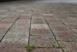 Pavers make a beautiful patio surface, but they must be maintained.