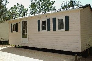 A mobile home may be eligible for financing with an FHA, VA or Rural Housing mortgage loan.