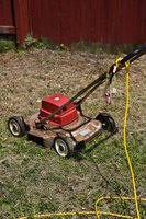 Mowing your lawn properly helps prevent brown grass.