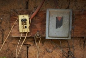 Old wiring should be replaced for safety and convenience.
