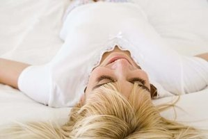 Sleeping on your back puts less stress on your neck and spinal column.