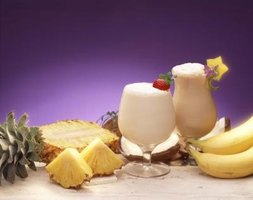Coast Colada is a spin on the popular Pina Colada.