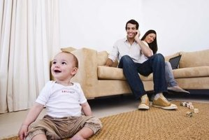 Clean, fresh-smelling carpeting provides a safe place for families to gather.