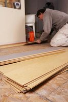 Installing laminate flooring is a do-it-yourself project.
