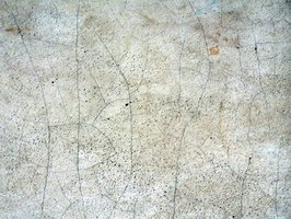 Concrete easily forms cracks when not cured properly.