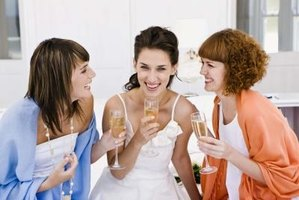 A maid and matron of honor for your wedding can split up their planning duties.