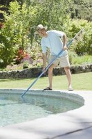 Clean and scrub your pool prior to algaecide application.