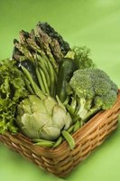 Many vegetables such as broccoli grow well in winter.