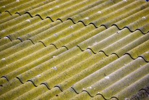 Corrugated tin sheets can be used to make a wall that is durable and water tight.