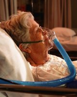 Oxygen concentrators deliver oxygen-enriched air to the patient; CPAP machines deliver pressurized air.