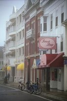 Mackinac Island offers couples the chance to stroll through its quaint downtown.
