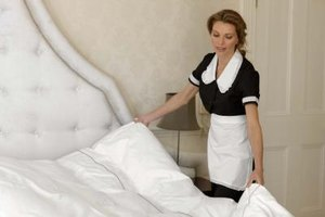 A maid can do a good job at cleaning -- especially if she has a checklist to work with.