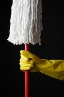 Banish bad mop smells with white vinegar.