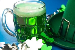 You don't need the luck o' the Irish to make green beer.
