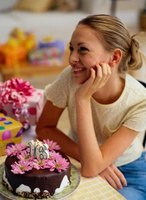 Make your daughter's sweet 16 birthday party memorable with fun table centerpieces.